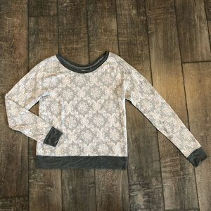 UO Kimchi Blue Lace Damask Sweater M